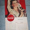 coca cola calendar