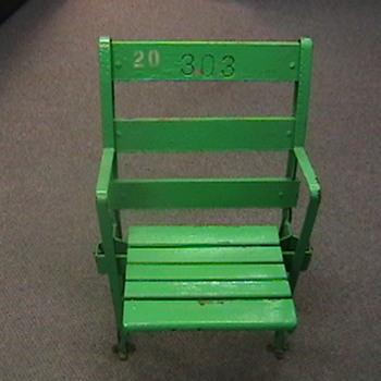 Original Comiskey Park Seat