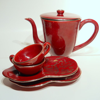 Riccardo Gatti coffee service - China and Dinnerware