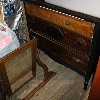 Dresser in the attic :)