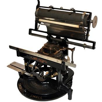 EDISON MIMEOGRAPH Circa 1892
