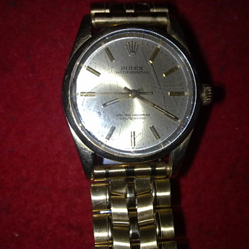 ROLEX OYSTER PERPETUAL CIRCA 1960 - Wristwatches