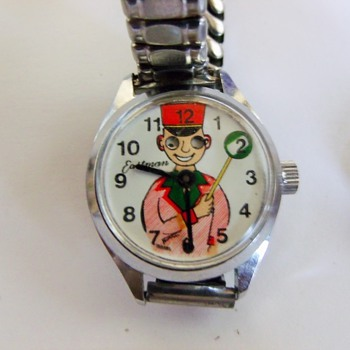 Eastman(Rega) Bandleader Animated Eyes Wristwatch - Wristwatches