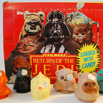 Star Wars Return of the Jedi Candy Container Set