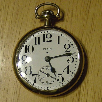 1945 Elgin Pocket Watch - Pocket Watches