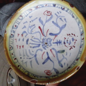 small plate - Art Pottery