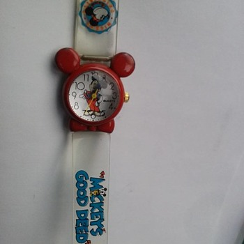 Cute Mickey Watch