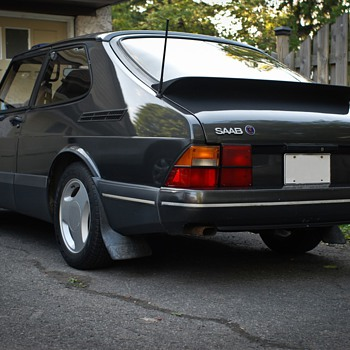 1987 SAAB 900 turbo SPG