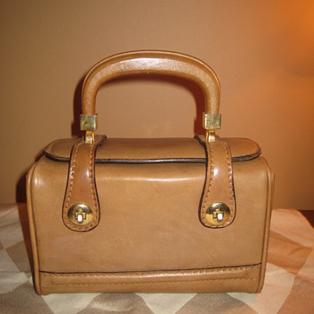 Rolego Italian Leather Trunk Case Box Purse