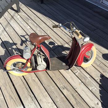 Pranafa Playboy Mini Scooter - Motorcycles
