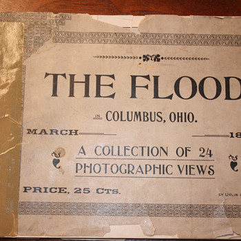 """The Flood"" Columbus Oh. March 1898 Photographic Views - Books"