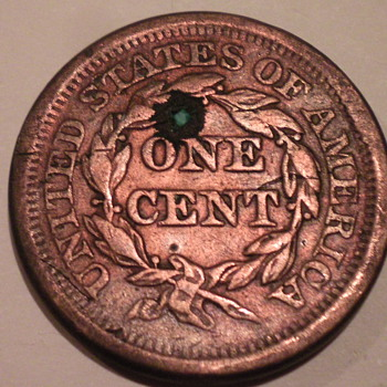 1851 Large cent - US Coins