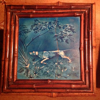 Minton & Hollins  Co. Tile table.  - Art Pottery