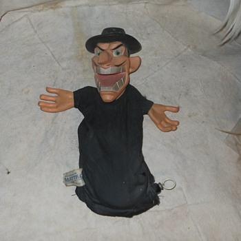 Mattel Dishonest John Hand Puppet 1962