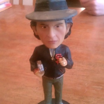 Bill Graham bobblehead - Baseball