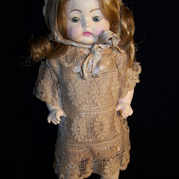 Antique Doll ...Who is the maker ?
