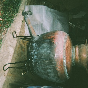 Antique Whiskey Still - Breweriana