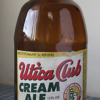 Utica Club Cream Ale.....
