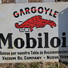 Mobiloil Gargoyle Flange Sign