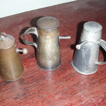 Pennsylvania German Tin Mammily - Bottles