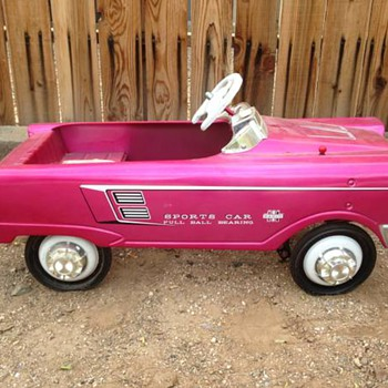 1966-69 Murray Radio sports car,  Pedal car.