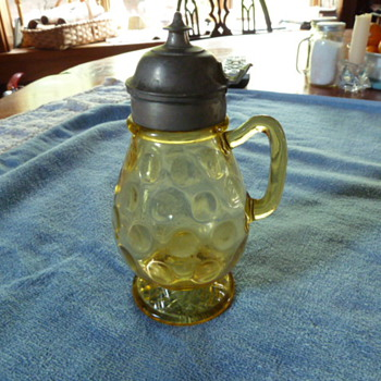 Syrup pitcher? - Glassware