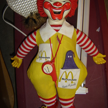 Vintage Ronald McDonald doll - Dolls
