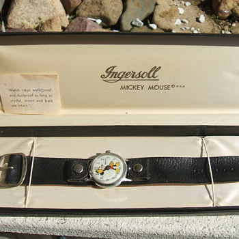 1968 Ingersoll 40th Birthday Mickey Wristwatch