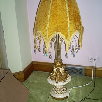 any info on this lamp would be appreciated!