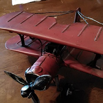 Questions on model biplane