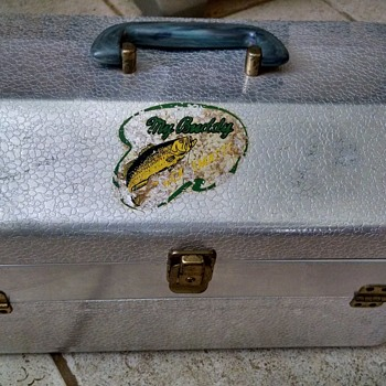 My Buddy Tacklemaster Aluminum Tackle Box - Fishing