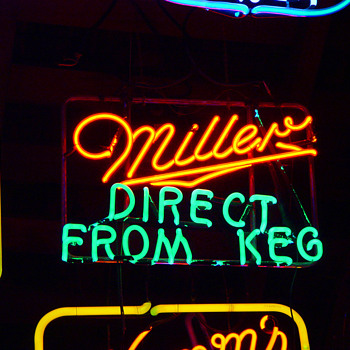 Miller direct from keg - Breweriana
