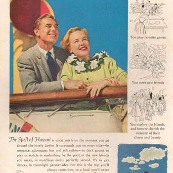 1951 - Matson Lurline Advertisement