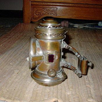 1896 bicycle lamp manhattan brass co  - Lamps
