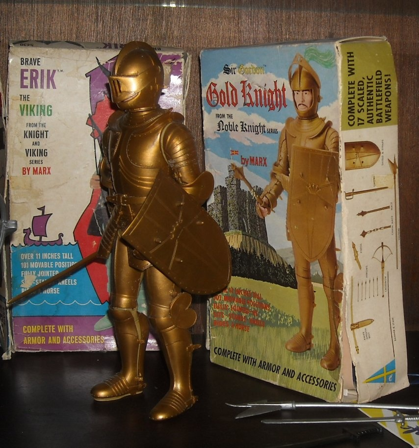 Marx Noble Knight Sir Gordon The Gold Knight Collectors