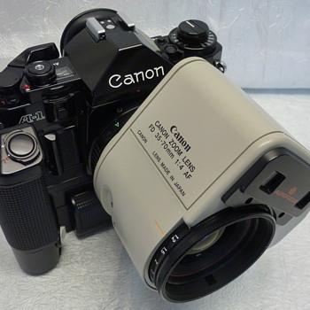 Canon A-1 - Cameras