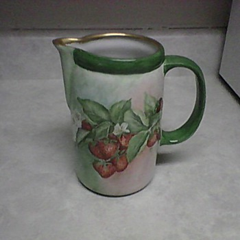 MC COY STRAWBERRY PITCHER