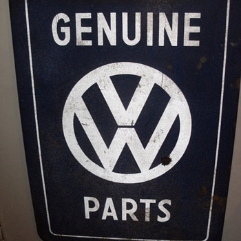 Volkswagen Sign - Signs