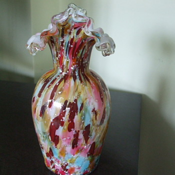 VASA MURRHINA in PASTELS by Stevens & Williams Glass Co, England