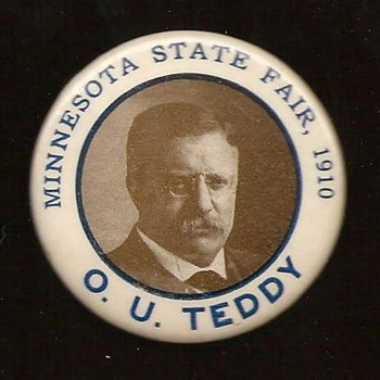 Teddy Roosevelt Visits the Minnesota State Fair