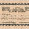 1908 - Electric Railway Company Stock