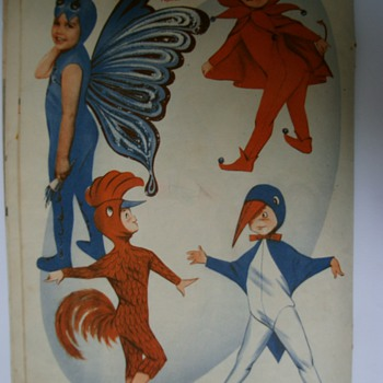 Vintage Magazine Carnival Costumes (Part II). - Paper