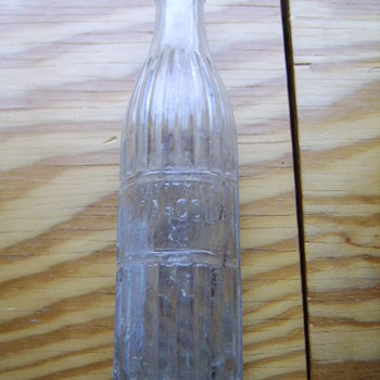 UNKNOWN AGE ?  COCA-COLA BOTTLE - STRAIGHT SIDED - Bottles