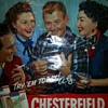 Chesterfield Advertising poster with Arthur Godfrey