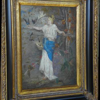 Art Nouveau/Victorian Painting - Visual Art
