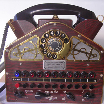 Navy Admiral's Command Telephone - Military and Wartime