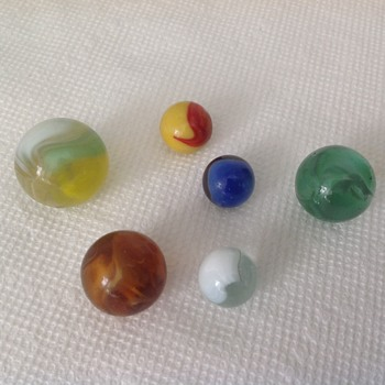 Antique Marbles - Art Glass