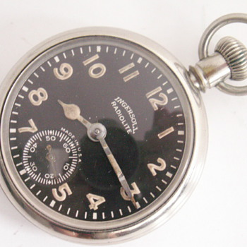 Ingersoll Radiolite - Pocket Watches