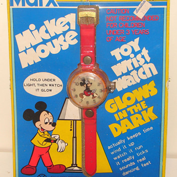 Marx Toy's Mickey Mouse Watch - Wristwatches