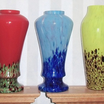 Ruckl Glass - The Big Impressive Vases